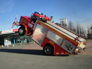 Backdraft Fire Engine