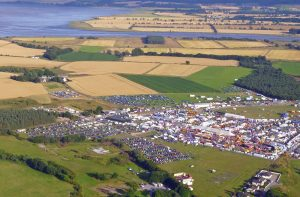 Black Isle Showground from the air
